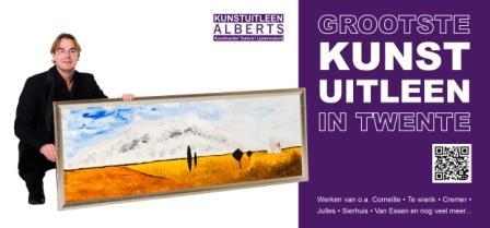 Alberts Grootste kunstuitleen in Twente