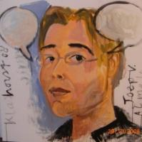 Joep Vrielink, geschilderd door Peter Klashorst.